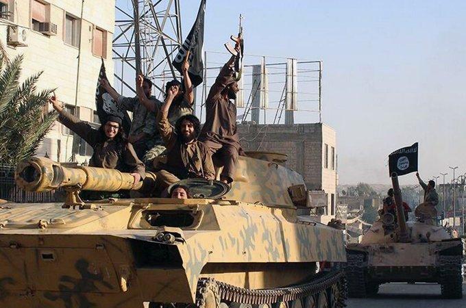 Тежка бронирана техника, пленена от ИД