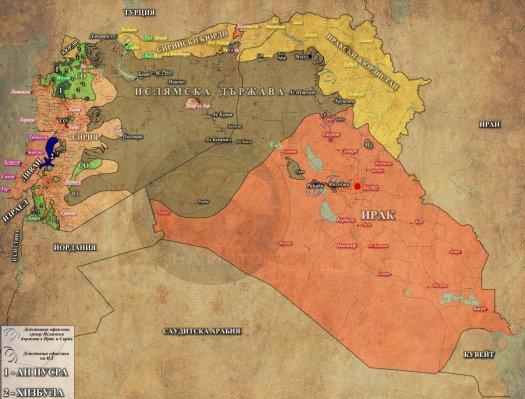 Сирия, Ирак и Ливан - 27,07,2015г.