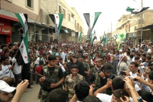 Reuters: Abu Omer/Shaam News Network