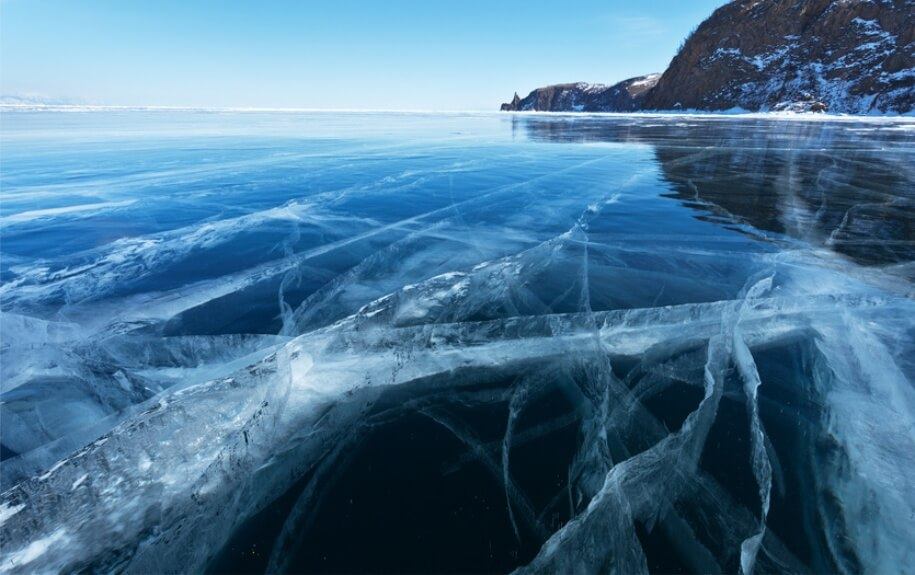 Image result for lake baikal winter