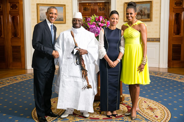 barack_obama_and_jammeh_yahya_and_zeinab_suma_and_michelle_obama_insert_courtesy_state_department