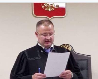 судья А. Криворучко, осудивший Павла Устинова на 3,5 года