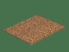 Материал - Кокосовый лист (койра) 10 мм.