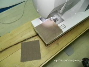 Обработка краёв ластовиц