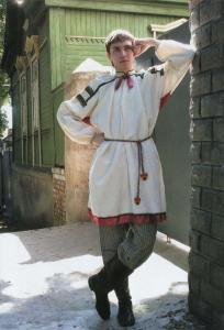 Мужской народный костюм. Конец XIX-начало XX века.
