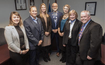 Inaugural Meeting of the Council of the Town of Comox