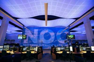 Russ Bassett TRansportation network Operations Center console furniture