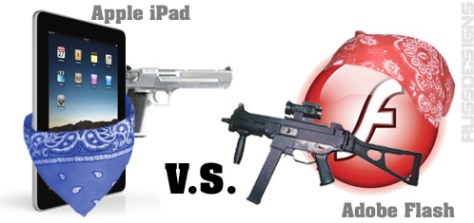 Apple iPad vs. Adobe Flash