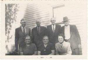 Adult siblings 1950