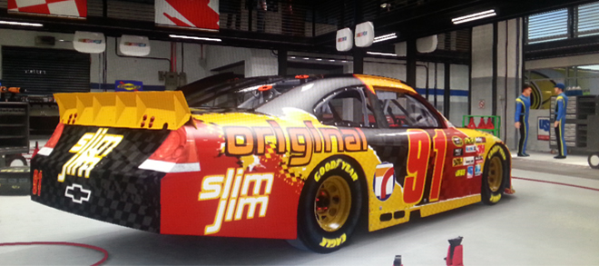 SNAP INTO A SLIM JIM – A Nascar Story