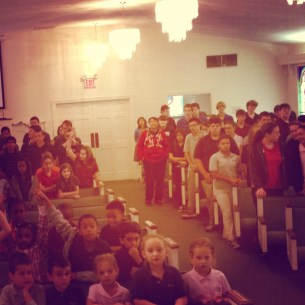 School Chapel Service in Fayetteville, NC