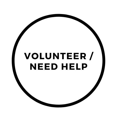 volunteer need help