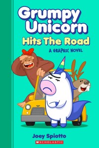 grumpy unicorn: hits the road