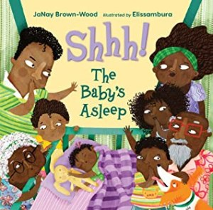 shhh the baby's asleep