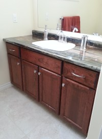 Cherry Bathroom Vanity C5 | Russell Cabinets