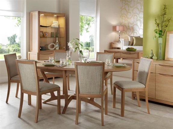 Buy Arhus Table 6 Chairs Russell Dean Furnishers Mytholmroyd