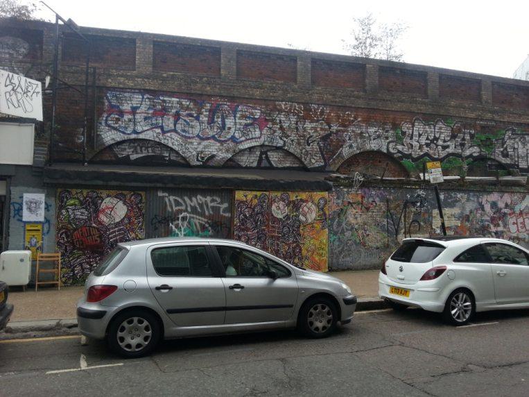 Traditional street art
