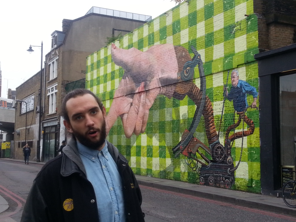 This wall changes every week