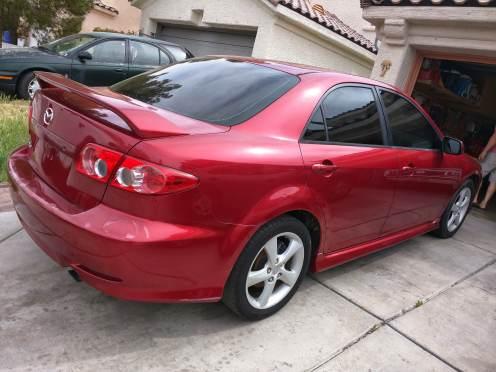 2003 Mazda 6 Red