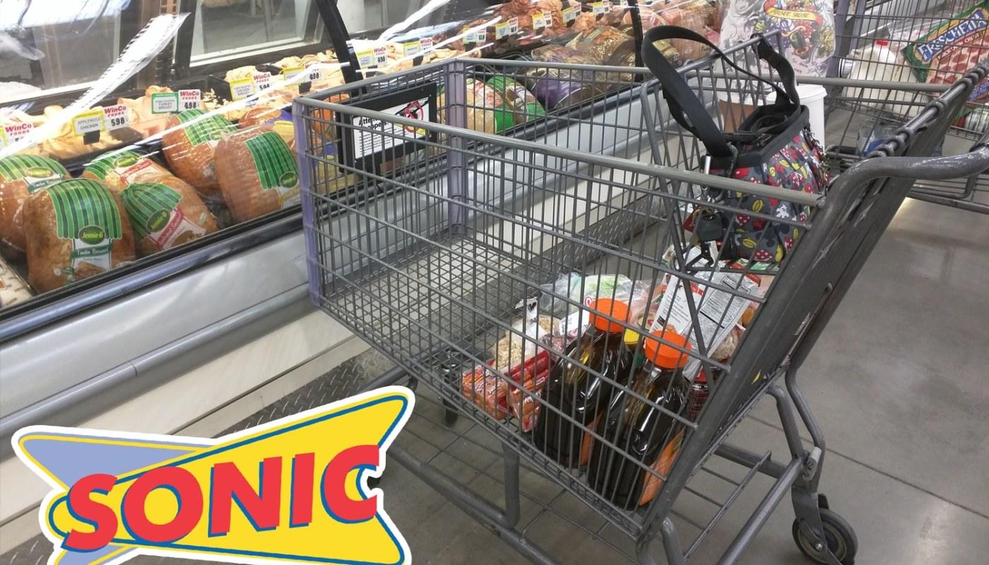 Drive-thru-shopping-cart