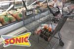 drive thru shopping cart