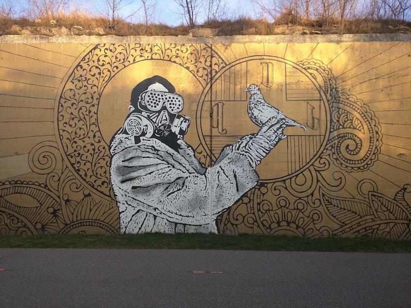 Detroit Street Art Tour Downtown