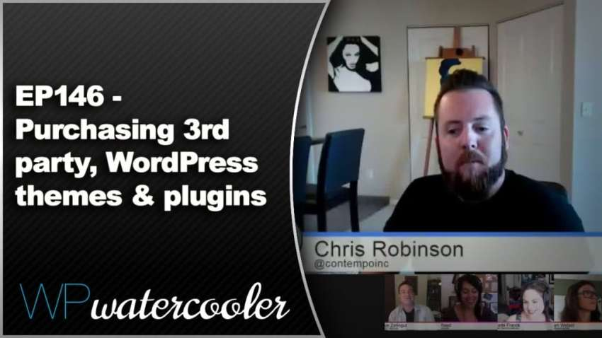 Episode 146: Purchasing 3rd party, WordPress themes and plugins