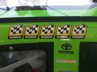 Kyle Busch 2015 Winners Stickers