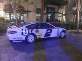 Brad Keselowski Sprint Cup Series Car- Full Car View