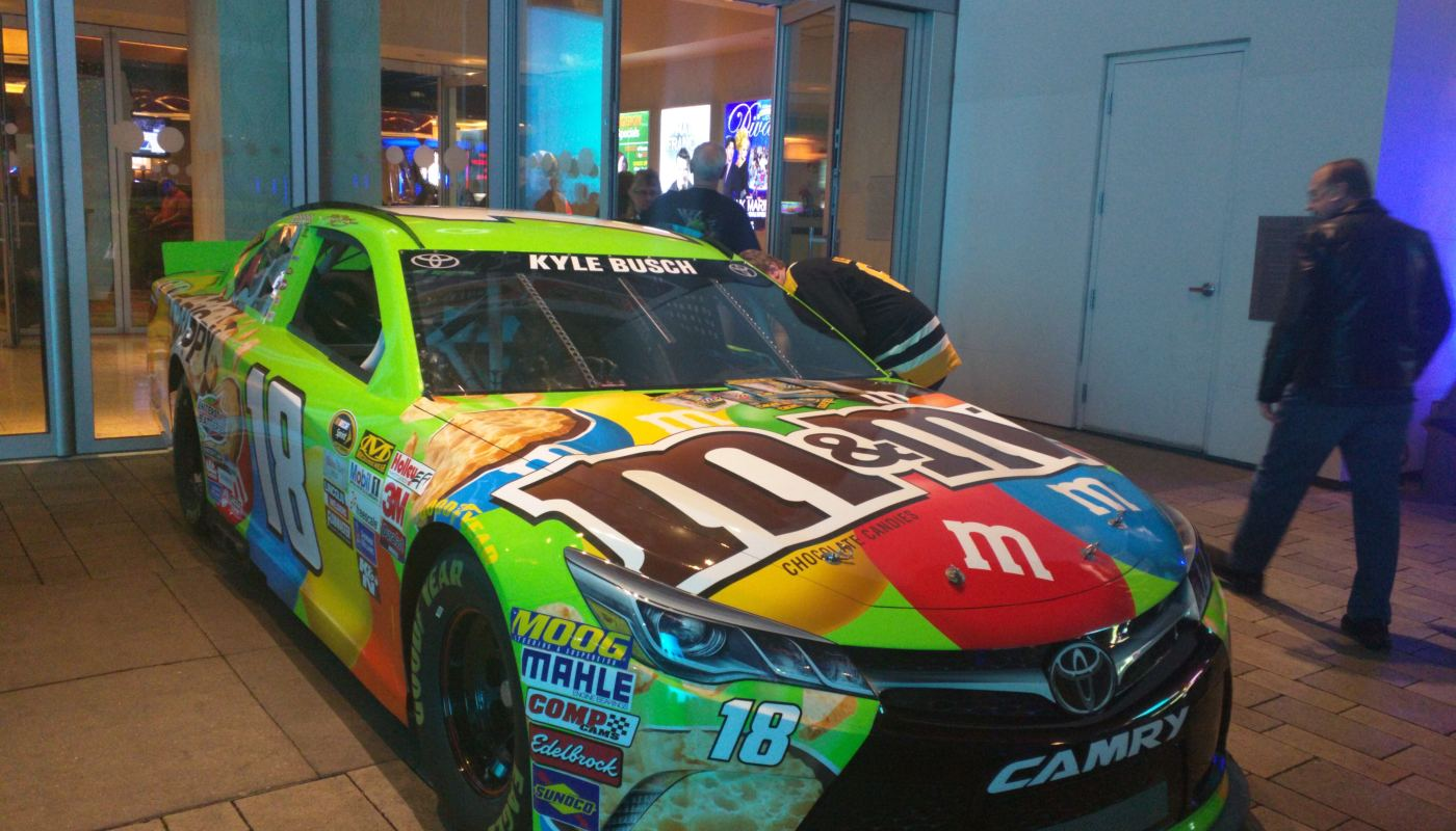 Kyle Busch Sprint Cup Series Car- Championship Week 2015