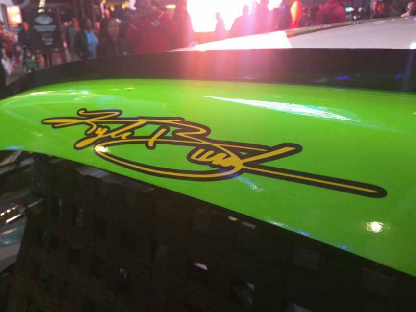 Kyle Busch Sprint Cup Series Car- Signature