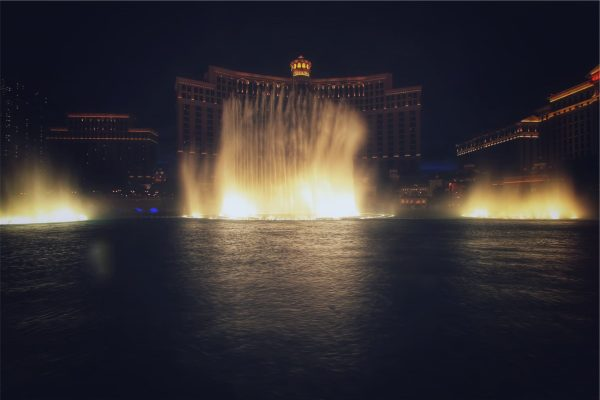 The Bellagio Water Show . Five Free Things in Las Vegas