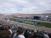 Clear Weather Before Kyle Busch Leads In Vegas
