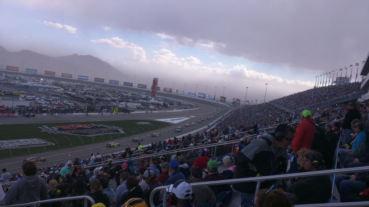 The Craziest Nascar Race That I've Ever Witnessed.