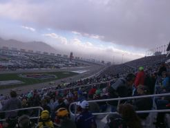 Kyle Busch Leads Nascar in A Sandstorm