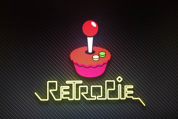 RetroPie welcome screen on Raspberry Pi 3