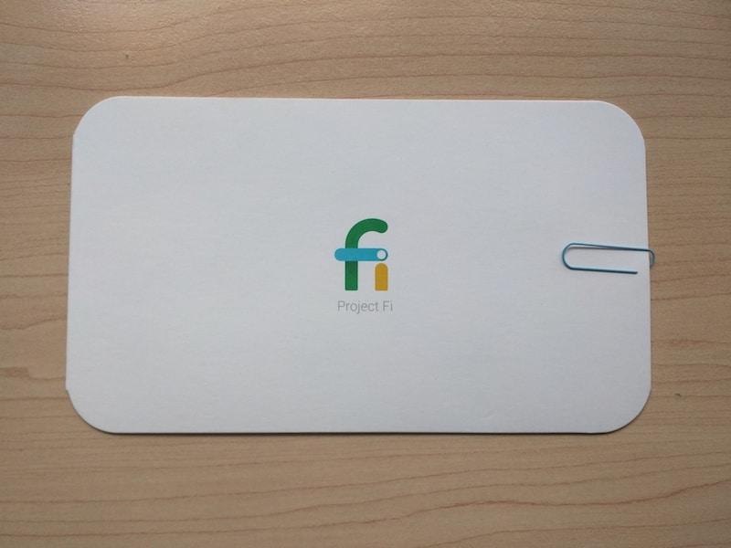 Google Fi Sim Card