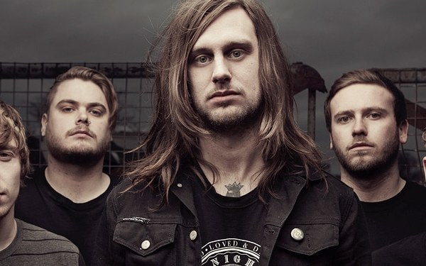 While she sleeps band shot