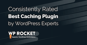 WP Rocket is a wordpress plugin making your site super fast
