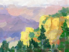Grand Canyon oil paintings by Russell Johnson