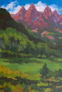 Colorado paintings by Russell Johnson