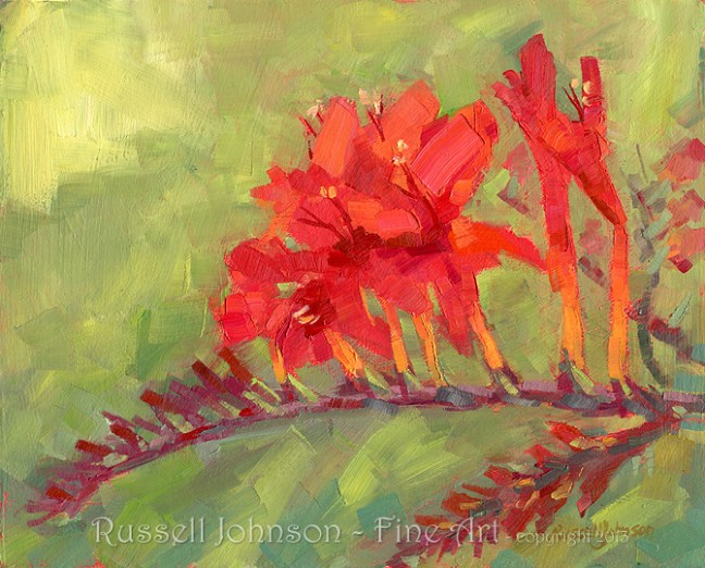 Floral Paintings by Russell Johnson