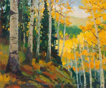 Russell Johnson Prescott Landscape paintiner
