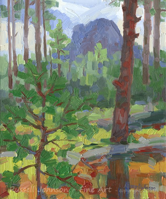 Russell Johnson Thumb Butte fine art