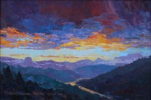 Russell Johnson Arizona landscape artist