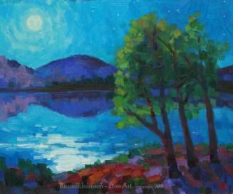 Russell Johnson Prescott AZ landscape artist