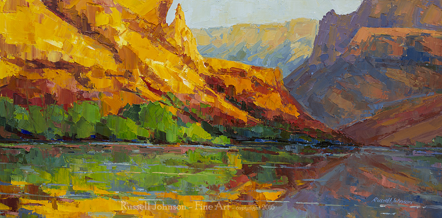 Russell Johnson - Grand Canyon Artist