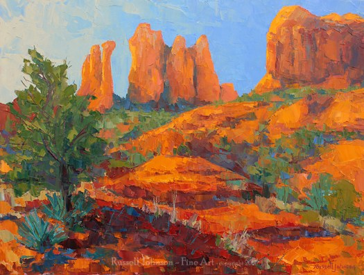 Russell Johnson southwest artist