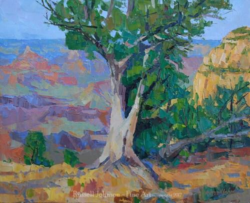 Russell Johnson Prescott Grand Canyon oi painter