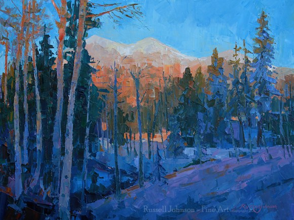 Russell Johnson Prescott oil painter